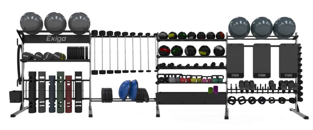 Exigo UK Studio Storage from Perfect Gym Solutions